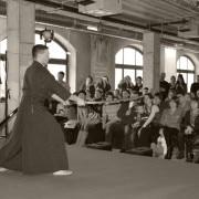 «Самураи. 47 ронинов». Выступление в рамках интерактивной программы выставки